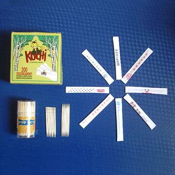 Wooden Toothpick (Zahnstocher aus Holz)