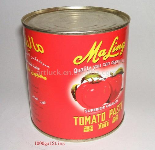Canned Tomato Paste (Консервы Томатная паста)