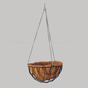 Vinyl Coated Hanging Basket (Винил покрытием висячие корзины)