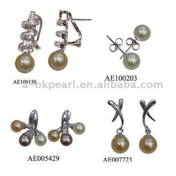 Pearl Earrings (Perlen Ohrringe)