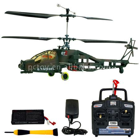 4 Channels R/C Helicopter - AH-64 APACHE (4 каналам R / C Helicopter - AH-64 Ap he)