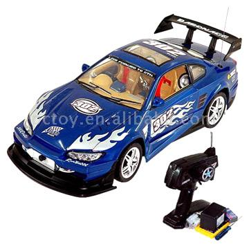 1:10 Scale Super R/C Car with Light / Opening Door (В масштабе 1:10 Super R / C Car с легкими / открытие дверей)