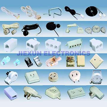 Telephone Wire And Accessories (Телефонные провода и аксессуары)
