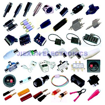 TV Connector,AV Adaptor,Splitter,etc. (TV connecteur AV Adaptor, Splitter, etc)
