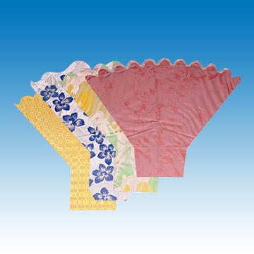 Y-Shape Scalloped-Top Flower Sleeve (Y-Shape Scalloped Топ-цветок рукава)