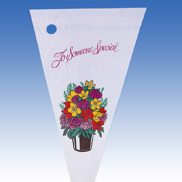 HDPE Printed Flower Sleeve ( HDPE Printed Flower Sleeve)