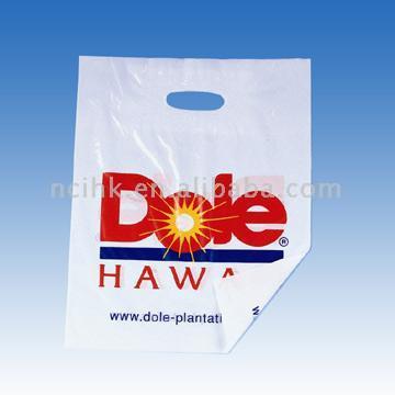HDPE LDPE Die Cut Plastic Bag
