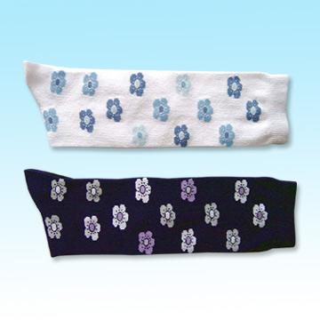 Women`s Jacquard Stockings (Женские чулки жаккард)