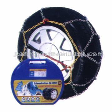Square Link Passenger Snow Chains (Площадь ссылку Пассажирские Snow Chains)