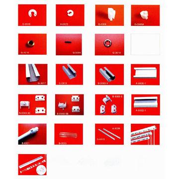 Vertical Blind Components (Вертикальный Слепой компонентов)