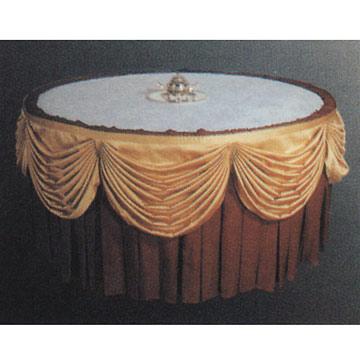 Table Skirting and Table Cloth (Таблица плинтус и скатерть)