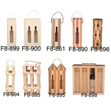Wooden Bottle Box (Деревянный бутылки Box)