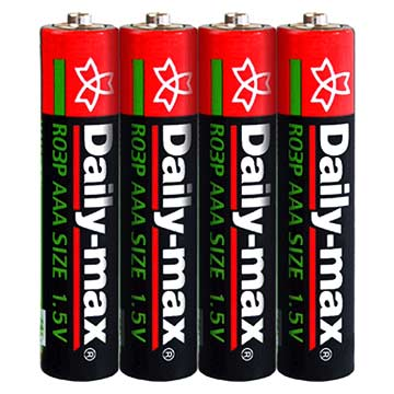 R03P-4S (SUM-4/AAA Size) Battery (R03P-4S (SUM-4/AAA размер) Батарея)