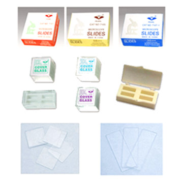 Microscope Slide and Microscope Cover Glass