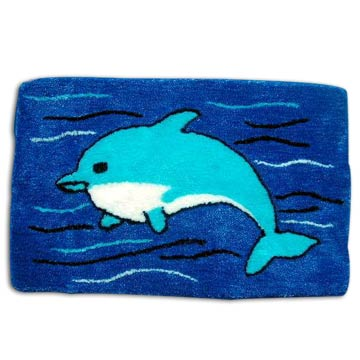 Bathroom  on Dolphin Bath Mat  Dolphin