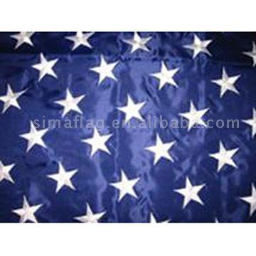 американский флаг из бисера - О том, как плести бисером.