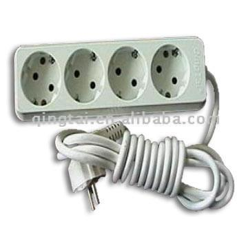 4-Gang Socket with Earthing (4-Gang Socket с заземлением)