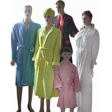 Pink Womens Terry SPA Body Wrap Towel Shower Bath Robe, Shower