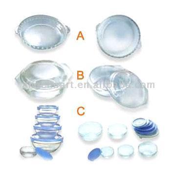 Glass Bowl, Glass Pan, Glass Tray (Стеклянный шар, пан стекло, стекло лоток)