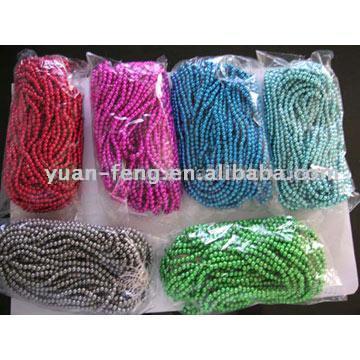 "38"" Plastic Beads"