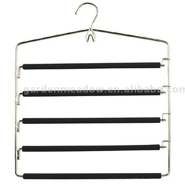 Metal Hanger With PVC Coating Bar