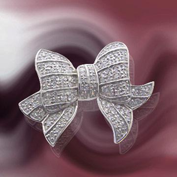 Silber Brosche (Silber Brosche)