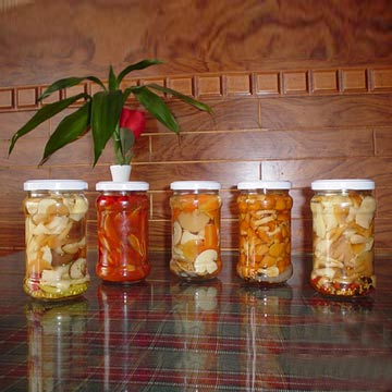 Canned or Bottled Exotic Mushrooms