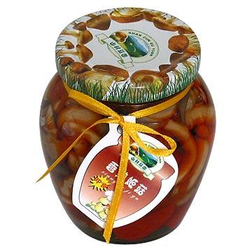Shimeji ( Beech Mushrooms ) with Chilies or Mixed Mushrooms (Shimeji (бук грибы) с чили или смешанные грибы)
