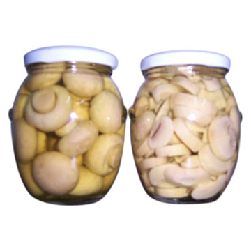 Canned Mushroom (In Glass Jar)