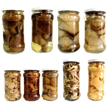 Salted Wild Mushroom (Соленые из лесных грибов)
