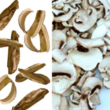 Dehydrated Wild Mushrooms