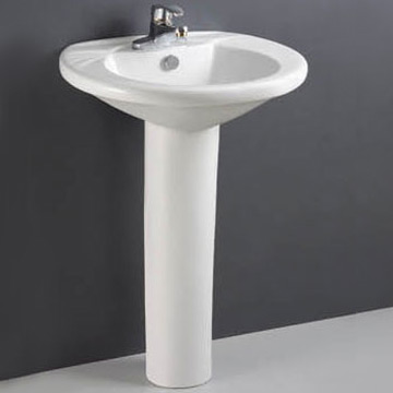 Siphonic One-Piece Toilet & Pedestal Basin (Siphonic One-Piece Туалет & Пьедестал бассейне)