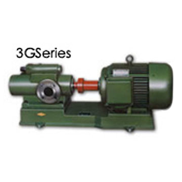 Three Screw Pump (Drei Schraubenspindelpumpe)