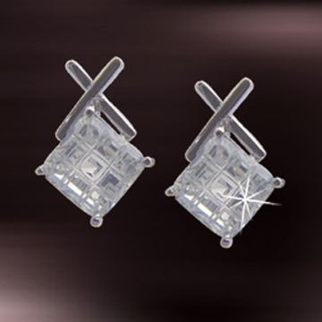 Cubic Zirconia Earrings (Zirkonia Ohrringe)