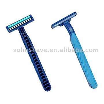 Rubber Handle Disposable Razors (Одноразовые резиновые ручки Бритвы)