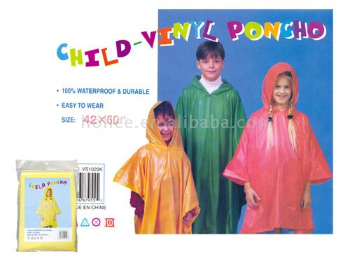Children And Men`s Poncho (Дети и мужчины `S пончо)