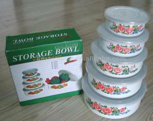 5pc Storage Bowl Set (10-18cm) (5pc хранения Bowl Set (10 8см))
