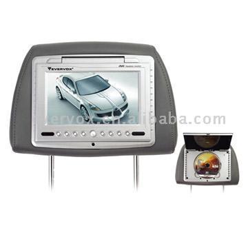 "7"" TFT Headrest Monitor with DVD Combo (7 ""TFT монитор с подголовником DVD Combo)"