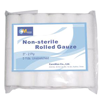 Non-Sterile Rolled Gauze (Нестерильных проката Марли)