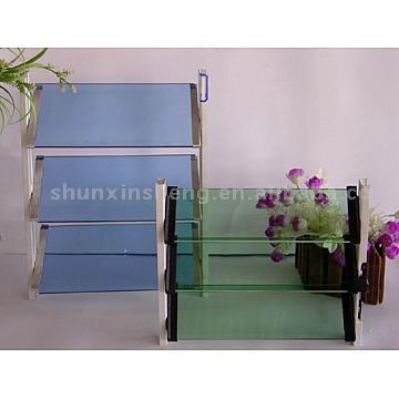 Tinted Louver Glass (Green, Blue, Bronze) (Жалюзи тонированное стекло (зеленый, синий, бронза))