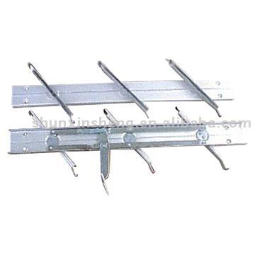 Aluminum Plastic Louver Frames
