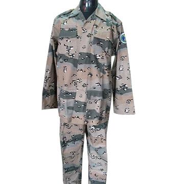 BDU Desert Camouflage Uniform