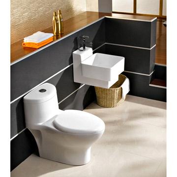 One-Piece Toilet (One-Piece Туалет)