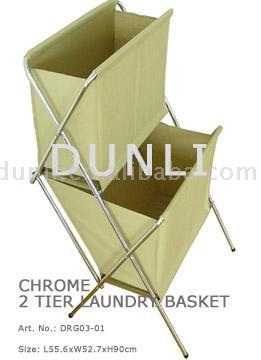 2 Tier Laundry Basket