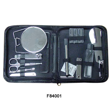 11 Piece Manicure Set with Pouch