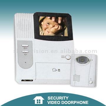 B/W or Color Video Doorphone