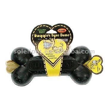 target dog toy. Rubber Dog Toy R-3 (Black Cool