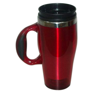 Travel Mug With Easy Grip Handle (Travel Easy кружку с ручкой)