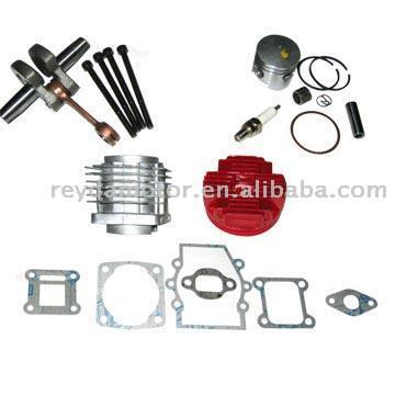 Cylinder Kit with Colorful Cut Head (Цилиндр Kit красочные Cut глава)
