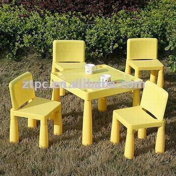 Mobilier En Plastique Table Chaises Meubles Enfants Plastic